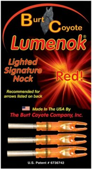 Lumenok Lighted SL Arrow Nock