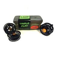 Cheeky Triple Play Fly Reel and Spool Bundle