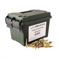 LC Ammunition 5.56 62gr FMJ (XM855) 500rd Can