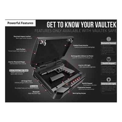 Vaultek VT20i Sub-Compact Safe