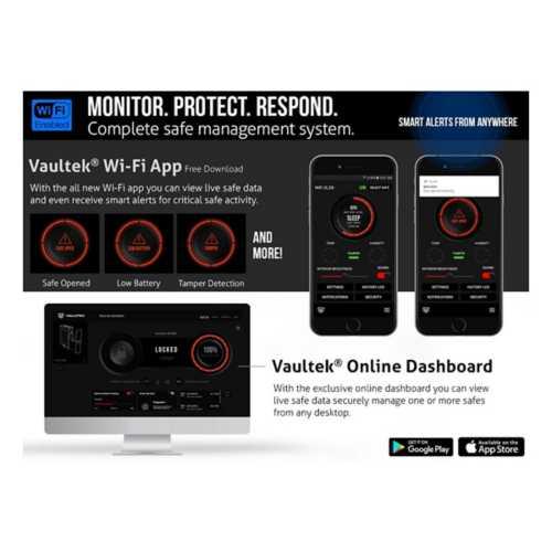 Vaultek Biometric Bluetooth Slider Safe