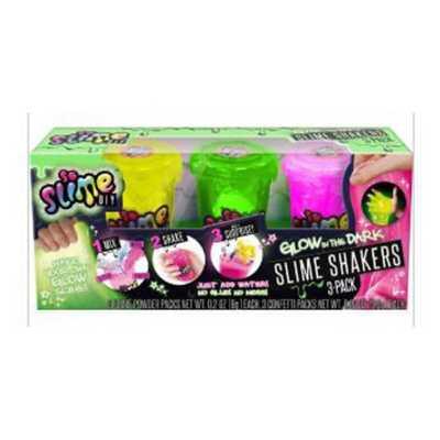 Slime Shakers Glow in the Dark 3 Pack