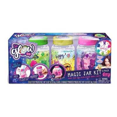 So Glow Mini Magic Jar DIY Kit 3 Pack