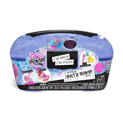 So Bomb DIY Bath Bomb Kit Caddy