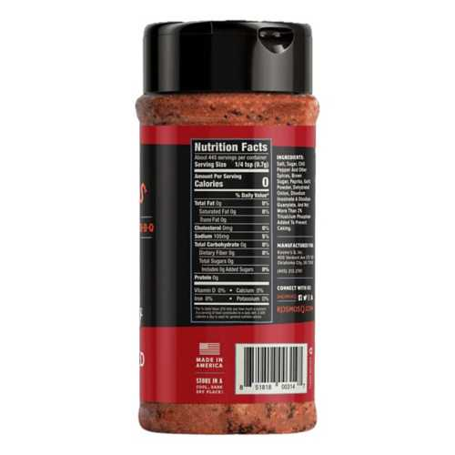 Kosmos Dirty Bird Hot BBQ Rub