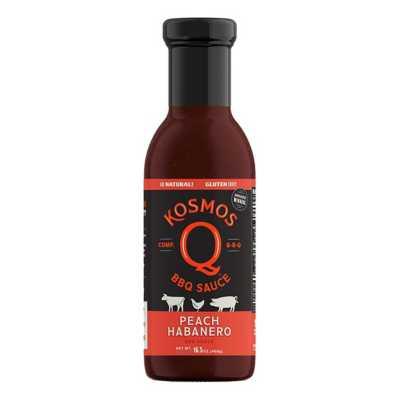 Kosmos Peach Habanero BBQ Sauce