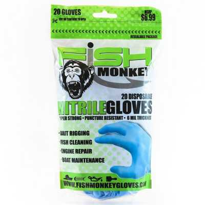 Fish Monkey Disposable Nitrile Glove