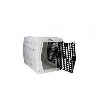 Ruff Land Kennels Intermediate Double-Door Right Side Entry Dog Kennel