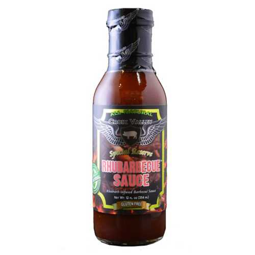 Croix Valley Rhubarbecue BBQ Sauce