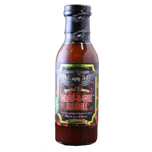 Croix Valley Cran-B-Cue BBQ Sauce