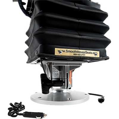 Smooth Moves Air Boat Seat Suspension System