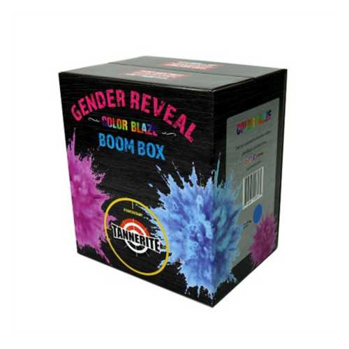 Tannerite Gender Reveal Boom Box