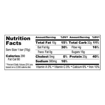 Probar Base 20g Protein Bar Chocolate Peanut Butter