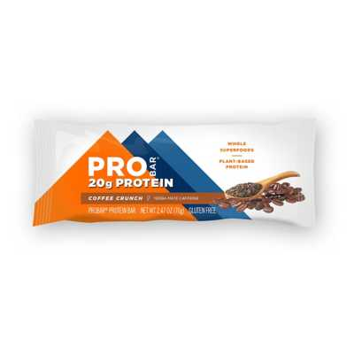 PRO BAR Coffee Crunch 20g Protein Bar with Caffeine