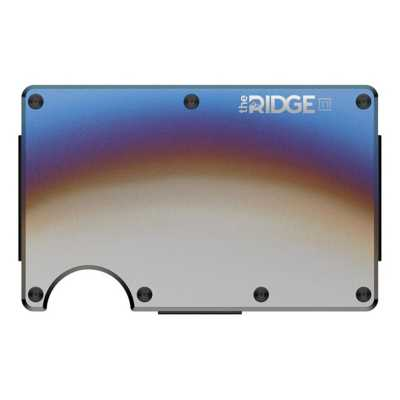 Men's Ridge Titanium Money Clip Wallet