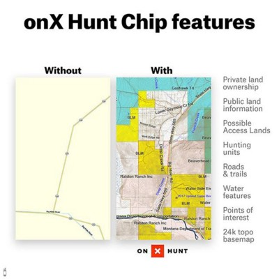 OnX Hunt Chip by State
