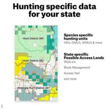 OnX Hunt Maps Chip by State