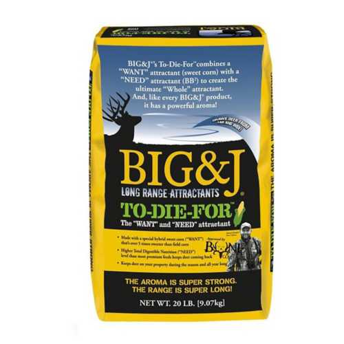 Big & J To Die For Deer Attractant