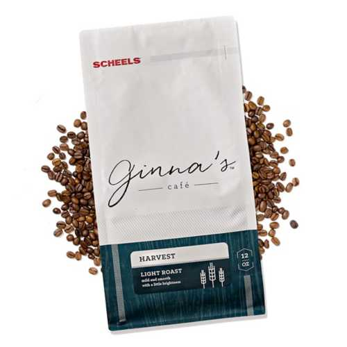 Ginna's Cafe Harvest Light Roast Whole Bean Coffee