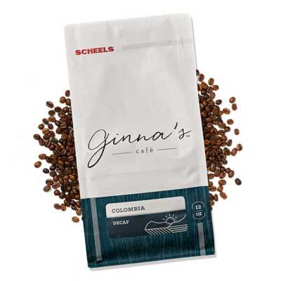 Ginna's Cafe Columbia Decaf Coffee