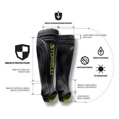 Adult Storelli BodyShield 2.0 Leg Guards