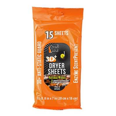 Dryer Sheets Natural Woods