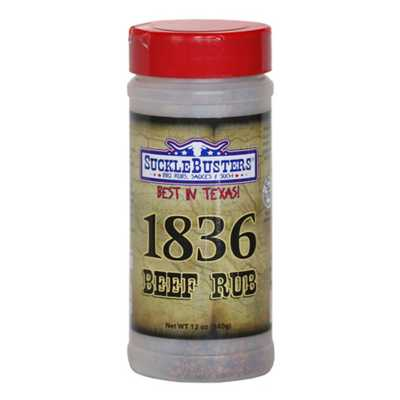 SuckleBusters 1836 Beef Rub