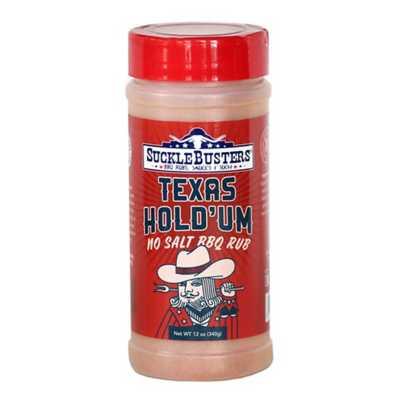 SuckleBusters Texas Hold 'Um No Salt BBQ Rub