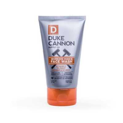 Men's Duke Cannon Working Man's Face Wash