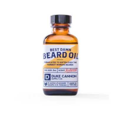 Men's Duke Cannon Best Beard Oil