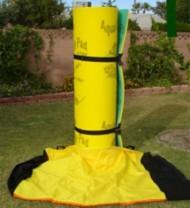Aqua Lily Pad Storage Bag