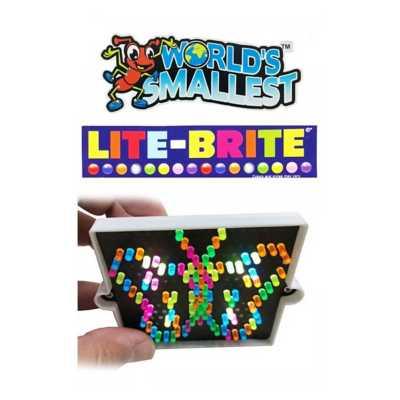 World's Smallest Lite-Brite