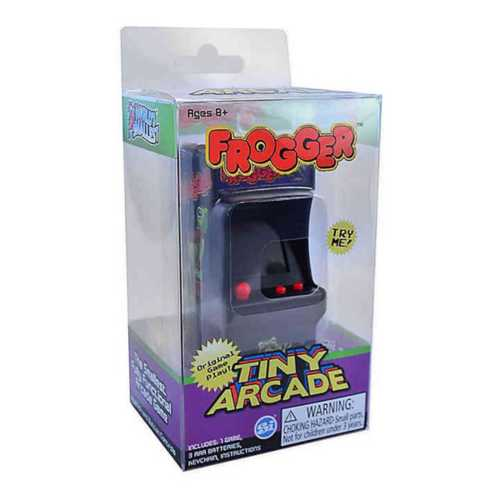 Tiny Arcade Frogger Game