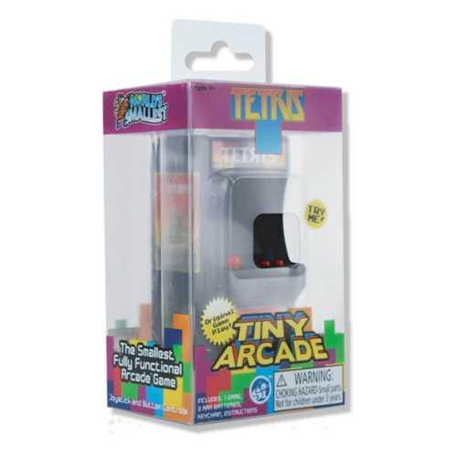 Tiny Arcade Tetris Game