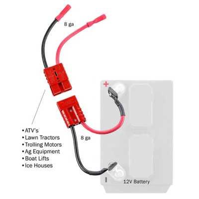 Connect-Ease 12V Single 10 Gauge Connection Kit