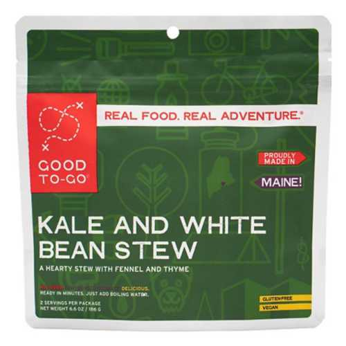 Good-To-Go Kale and White Bean Stew