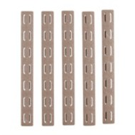 "5.5"" Keymod Rail Panel Kit, FDE, 5 Pack"
