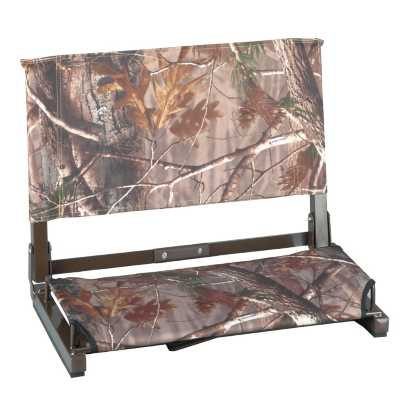 Stadium Chair Co. Wide Realtree Camo Stadium Chair