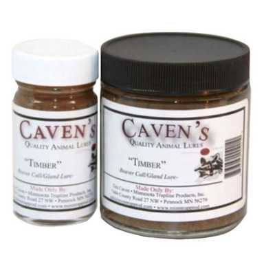 Caven's Beaver Castor Lure - Timber
