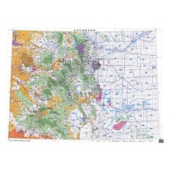 HuntData Colorado Statewide Unit Map with Land Ownership