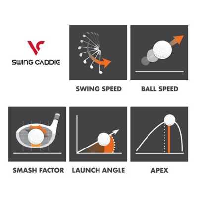 Voice Caddie Swing Caddie SC300 Portable Launch Monitor