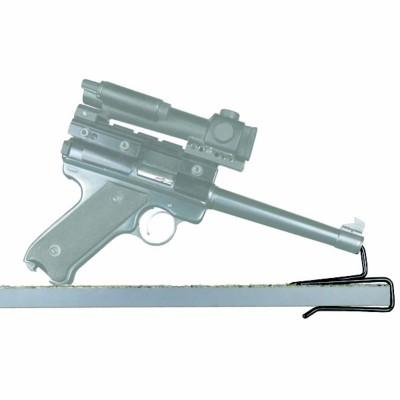 Gun Storage Solutions Back Over Handgun Hangers