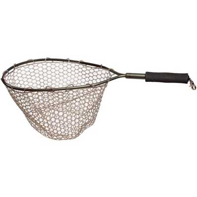 Adamsbuilt Trout Catch and Release Net with Ghost Netting 15 Inch