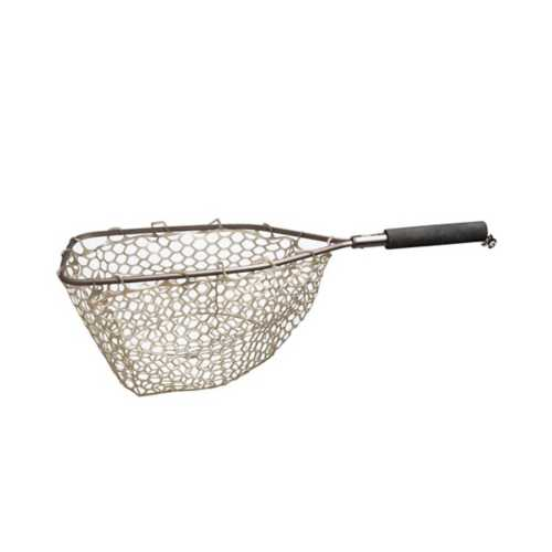 Adamsbuilt Trout Net with Ghost Netting 15 Inch