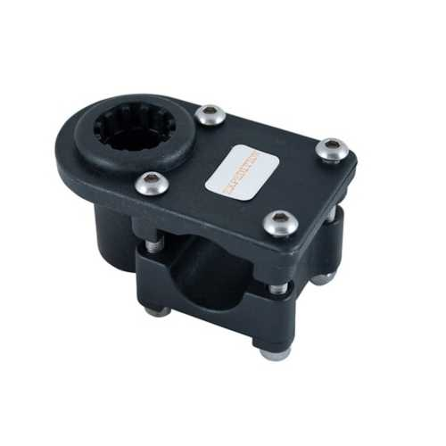 Expedition Universal Rail Mount for Round and Square Rail