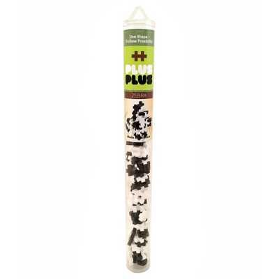 Plus Plus Tube Mini Maker - Zebra
