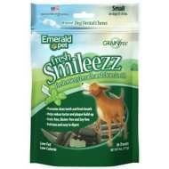 Emerald Pet Mini Fresh Smileezz Dental Dog Treat 6 Oz