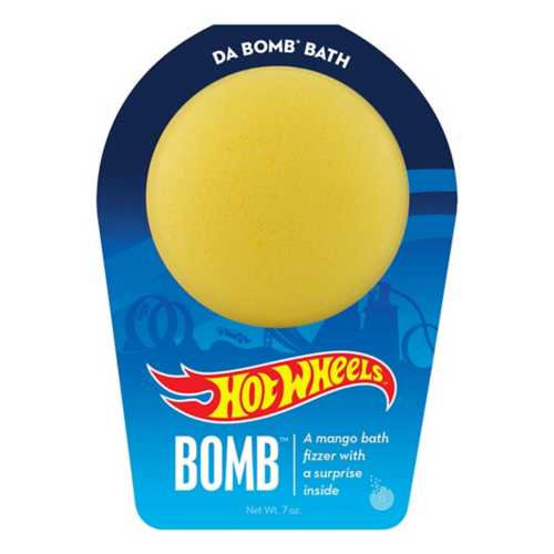 Da Bomb 7.0 Yellow Hot Wheels Bath Bomb