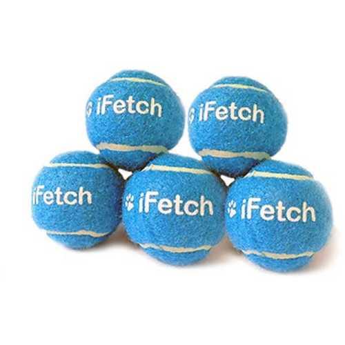 "iFetch 1.5"" Mini Tennis Balls 5 Pack"