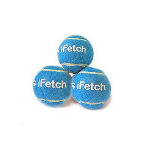 "iFetch Too 2.5"" Mini Tennis Balls 3 Pack"